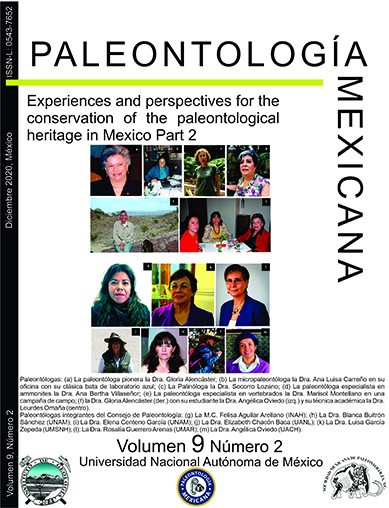 Experiences and perspectives for the conservation of the paleontological heritage in Mexico Part 2